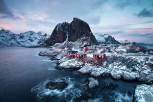 Circuit Merit Award e-certificate - Peter Lee (Canada)  Dusk At Hamnoy Lofoten Norway