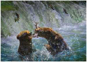 APU Gold Medal - Chung Jeanne (Hong Kong)  Bears Food Fight