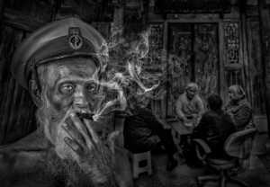 PhotoVivo Honor Mention e-certificate - Pandula Bandara (Sri Lanka)  Captain At His Old Age 2