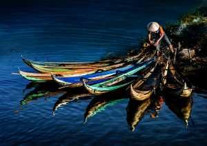 PSA HM Ribbons - Hung Kam Yuen (Australia)  Boat Arrangement