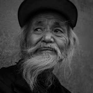 APU Honor Mention e-certificate - Yinao Zhang (China)  An Old Man