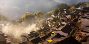 PhotoVivo Gold Medal - Jiongzhang Huang (China)  Smoke From Kitchen Chimneys