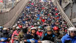 PhotoVivo Gold Medal - Su Jong Wang (Taiwan)  Waterfall Of The Motorcycle