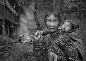 PhotoVivo Gold Medal - Bin Jiang (China)  Grandma With Me