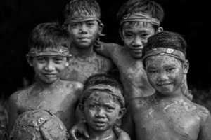 PSA HM Ribbons - Edwin Ong Wee Kee (Malaysia)  Bidayuh Muddy Faces