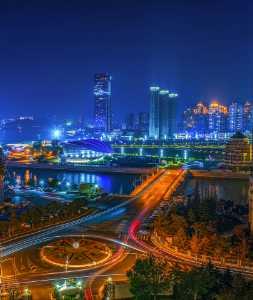PhotoVivo Gold Medal - Jiahong Zeng (USA)  Dalian Downtown