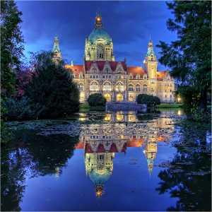 APAS Gold Medal - Holger Buecker (Germany)  New City Hall Hannover