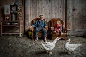 PhotoVivo Gold Medal - Jinle Chen (China)  With Grandpa