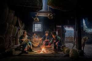 PhotoVivo Gold Medal - Liquan Sheng (China)  Women Weaving Basket 2