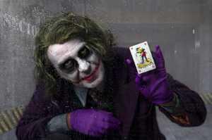 Circuit Merit Award e-certificate - Lee Sutton (England)  The Joker