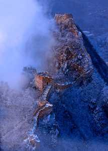 PhotoVivo Gold Medal - Liansan Yu (China)  The Great Wall Of Blues