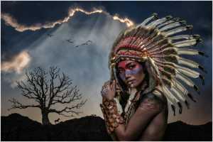 FIP Ribbon - Lee Eng Tan (Singapore)  Tribal Lady 12