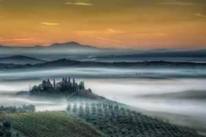 APAS Gold Medal - Michele Macinai (Italy)  Tuscan Golden Sunrise 22