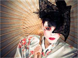 PhotoVivo Gold Medal - Lisa Law (Australia)  Geisha Girl 2