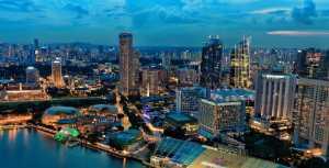 PhotoVivo Honor Mention e-certificate - Lee Eng Tan (Singapore)  Singapore Twilight City 2