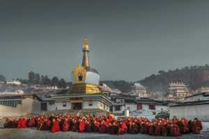 ICPE Honor Mention e-certificate - Gengsheng Guo (China)  Monk Gathering