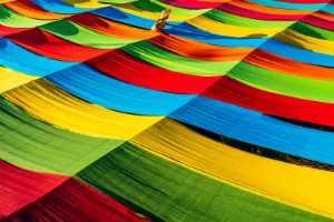 PhotoVivo Honor Mention e-certificate - Win Tun Naing (Singapore)  Colourful Fabric