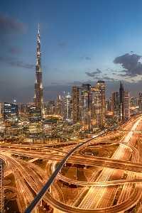 APU Gold Medal - Venisiana Dharmayanthi (Indonesia)  Burj Khalifa At Sunset