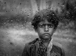 APAS Honor Mention e-certificate - Mainak Dey (India)  Eyes In The Rain