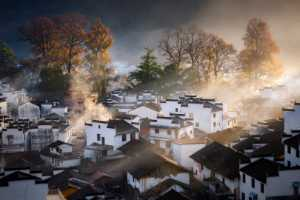 ICPE Gold Medal - Qingsheng Sun (China)  Picturesque Mountain Village