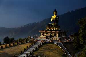 PhotoVivo Gold Medal - Satish Hanumantharao (India)  Thathagatha Budha