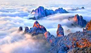 APU Gold Medal - Jincheng Zhou (China)  Mount Huangshan Cloud Sea