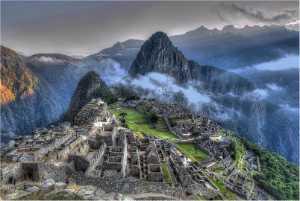 PSM Silver Medal - Heinz Peks (Germany)  Machu Picchu