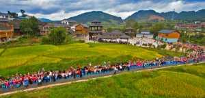 PhotoVivo Gold Medal - Kai Zhong (China)  Miao Family Eat New Festival