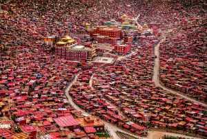 Golden Dragon Photo Award - Elisabeth Chintia Siayanti (Indonesia) - Larung Gar Buddhist Institute