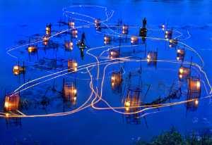 APAS Gold Medal - Tong Hu (China)  Night in the water