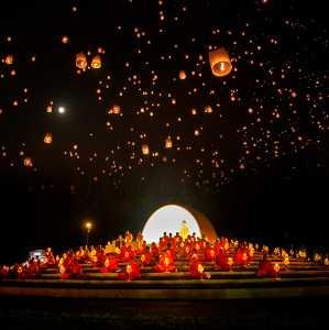 PhotoVivo Gold Medal - Min Li (China)  Sky Lantern Wish