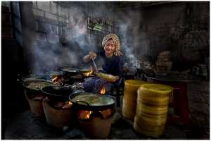 APAS Honor Mention e-certificate - Thomas Lang (USA)  Cooking For Lunch