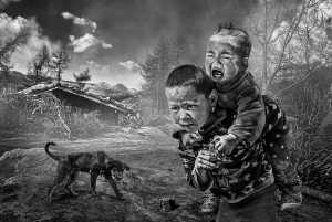 PhotoVivo Gold Medal - Wendy Wai Man Lam (Hong Kong)  Brothers Bw