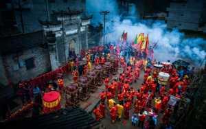 APU Winter Merit Award E-Certificate - Muchang Huang (China)  A Fiery Festival