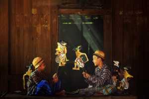 PhotoVivo Gold Medal - Chunxing Zhu (China)  Shadow Puppets