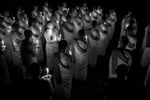 PhotoVivo Honor Mention E-Certificate - Hlaing Myint Min (Myanmar)  Nuns