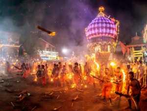 PhotoVivo Gold Medal - Jinesh Prasad (India)  Kateel Fire Fight