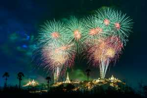 APU Honor Mention e-certificate - Chaivut Suthibutr (Thailand)  Khao Wang Fireworks