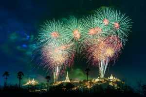 APU Honor Mention e-certificate - Chaivut Suthibutr (Thailand)  Khao Wang Fireworks