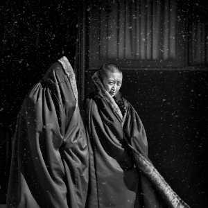 PhotoVivo Gold Medal - Jing Li (China)  Monk In The Snow