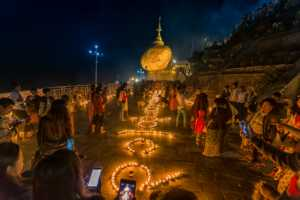 APU Honor Mention E-Certificate - Theinthan Soe (Myanmar)  Kyaikhteeyoe Lighting Ceremony