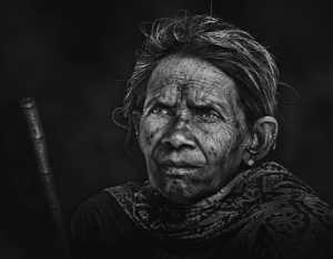 APAS Honor Mention e-certificate - Suresh Bangera (India)  Grandma Waiting