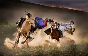 Circuit Merit Award e-certificate - Mingqin Yin (China)  Horseback Stunt