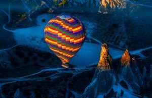FIP Ribbon - Risheng Liu (China)  Colorful Hot Air Balloon