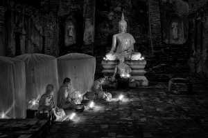 PhotoVivo Honor Mention e-certificate - Hong Sang Woo (Malaysia)  Twilight Meditation