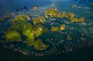 Honor Mention - Do Tuan Ngoc (Vietnam)  Dtn3- Raft Village On Lan Ha Bay