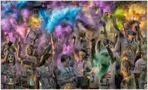 Golden Dragon Photo Award - Thomas Lang (USA) - Celebration Color Run