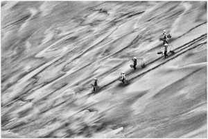 PhotoVivo Gold Medal - Thomas Lang (USA)  Journey Of Sand Waves