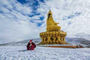 PhotoVivo Honor Mention e-certificate - Ping Xu (China)  Buddhism Land 2