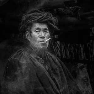 PhotoVivo Gold Medal - Yuanlin Tang (China)  Smoker